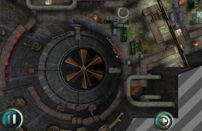 Screenshot Escape From Cyborgia on iPhone