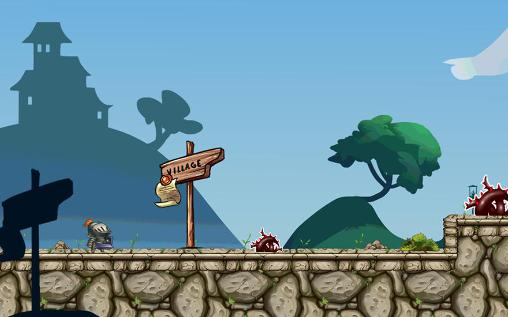 Arcade-Spiele Warrior rush für das Smartphone