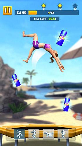 Arcade-Spiele Flip bounce für das Smartphone