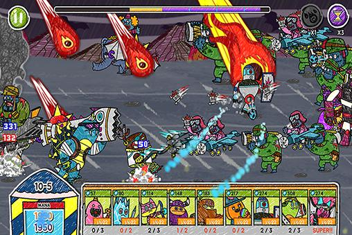 Monster vs zombie for Android
