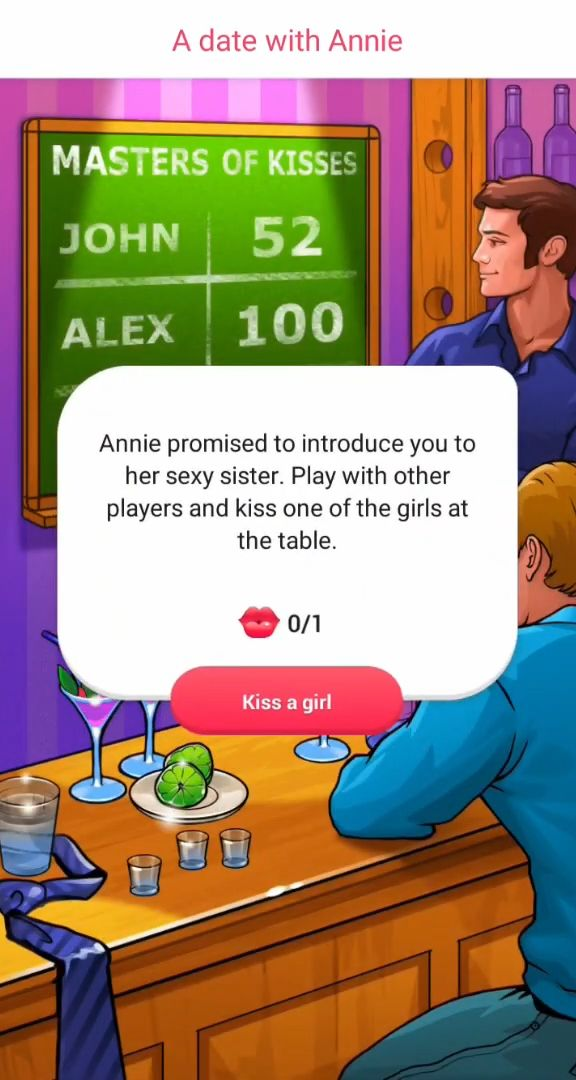 Kiss Kiss: Spin the Bottle for Chatting & Fun for Android