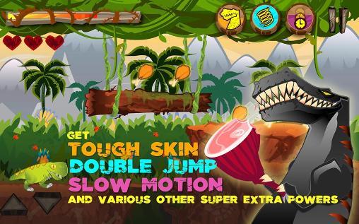 Arcade Dino the beast: Dinosaur game für das Smartphone