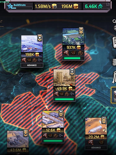 Jogos online Idle war: Heroespara smartphone