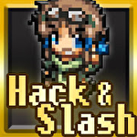 Hack and slash hero: Pixel action RPG icono