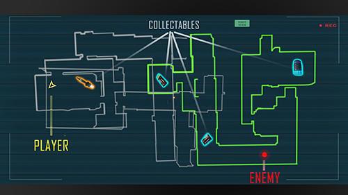 Actionspiele Alien attack: Spaceship escape für das Smartphone