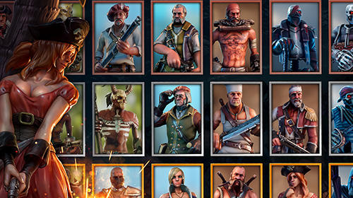 RPG Pirate tales: Battle for treasure für das Smartphone