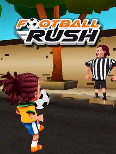 Football rush: Running kid скриншот 1