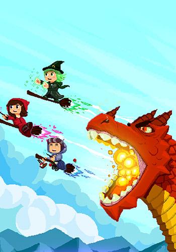 Arcade-Spiele Witch pop für das Smartphone