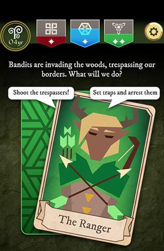 Kartenspiele Thrones: Kingdom of elves. Medieval game auf Deutsch