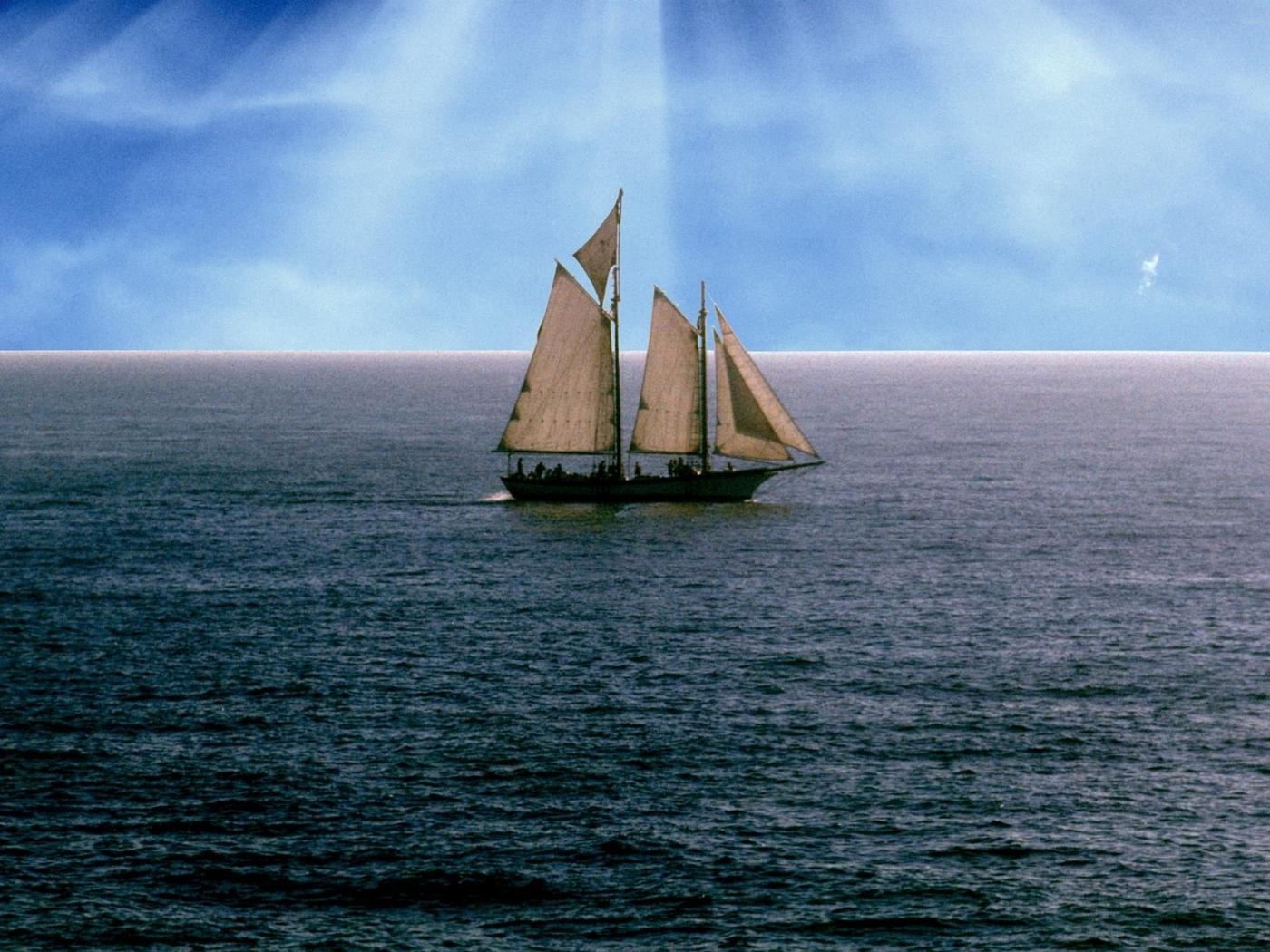 44427 скачать обои Пейзаж, Корабли, Море - заставки и картинки бесплатно