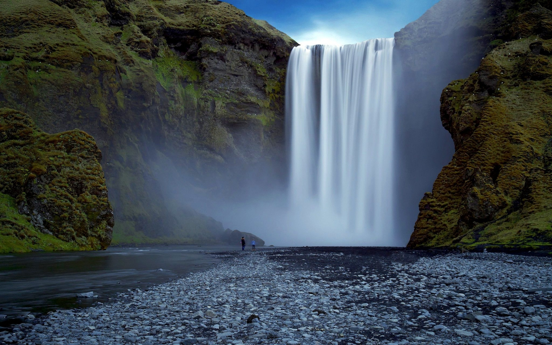 31123 download wallpaper Landscape, Waterfalls screensavers and pictures for free