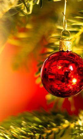 138514壁紙のダウンロード祝日, 玉, 球, 装飾, デコレーション, 赤い, クリスマスツリー, 新年, クリスマス-スクリーンセーバーと写真を無料で