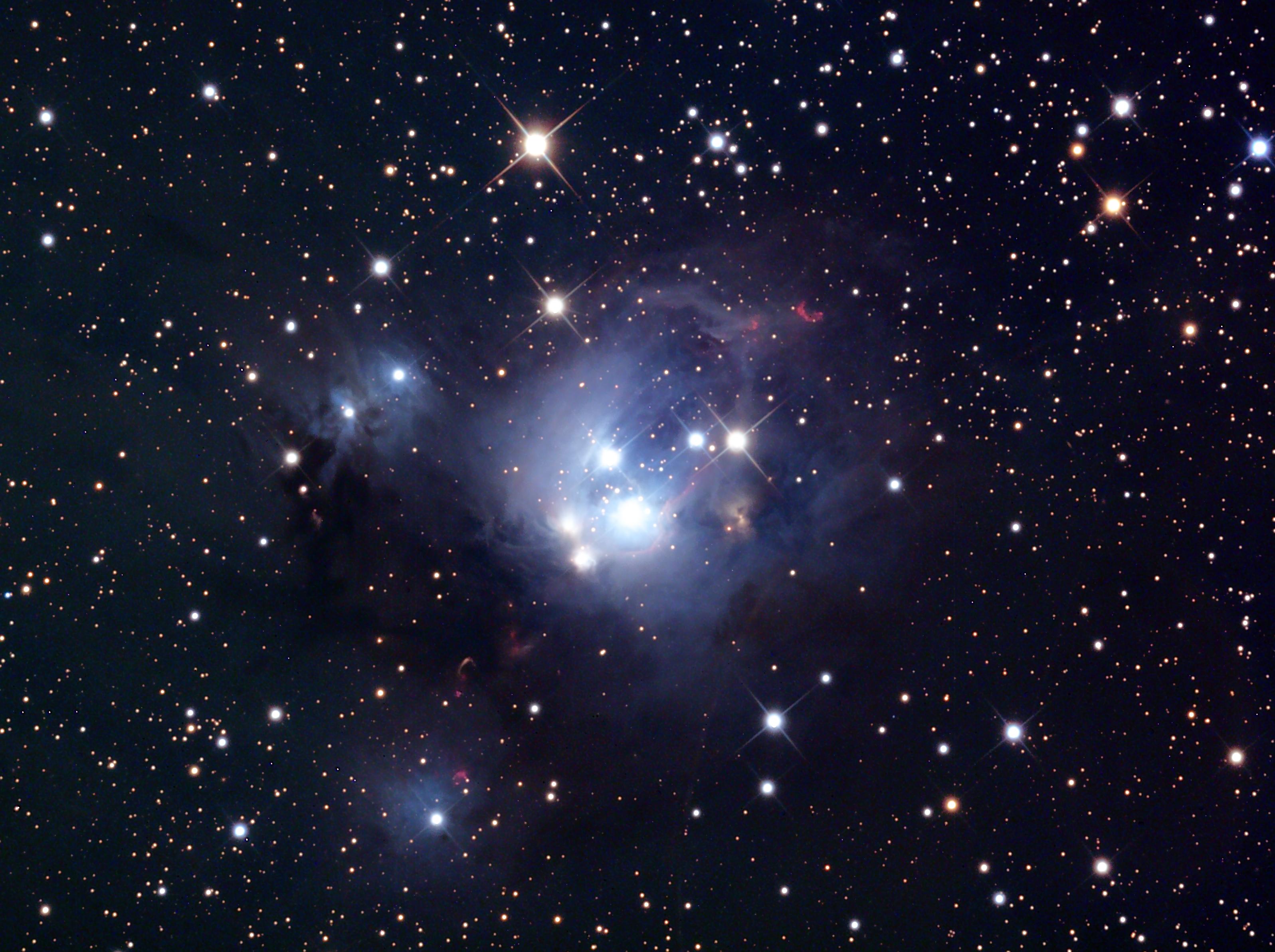 128336 скачать обои Звезды, Космос, Ngc 7129, Звёздное Скопление - заставки и картинки бесплатно