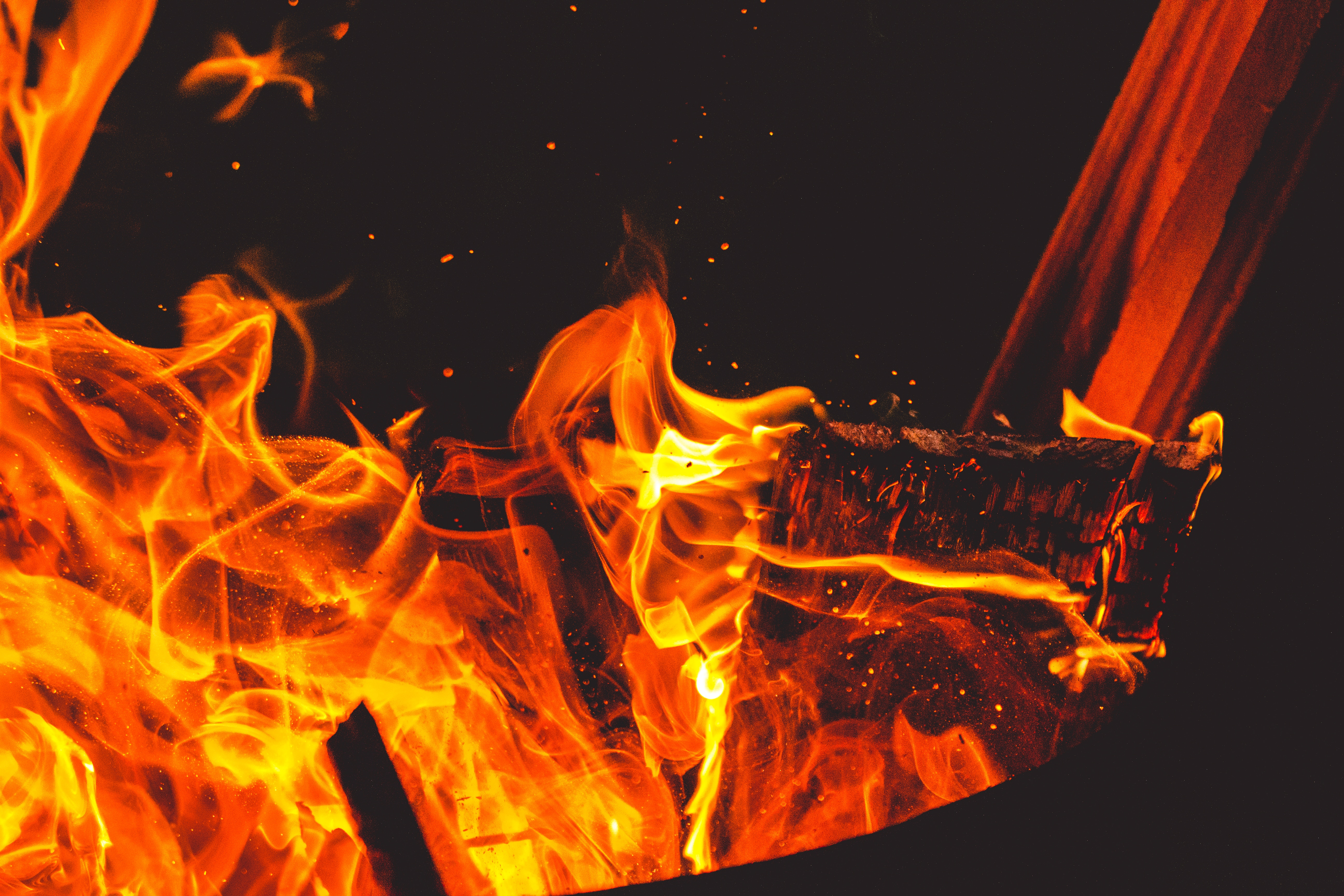 63434 Screensavers and Wallpapers Bonfire for phone. Download Fire, Bonfire, Flame, Sparks, Miscellanea, Miscellaneous, Firewood pictures for free