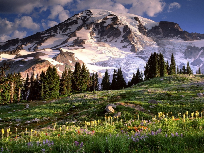 32876 download wallpaper Landscape, Mountains screensavers and pictures for free