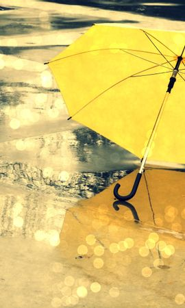 21412 скачать обои Пейзаж, Осень, Дождь - заставки и картинки бесплатно