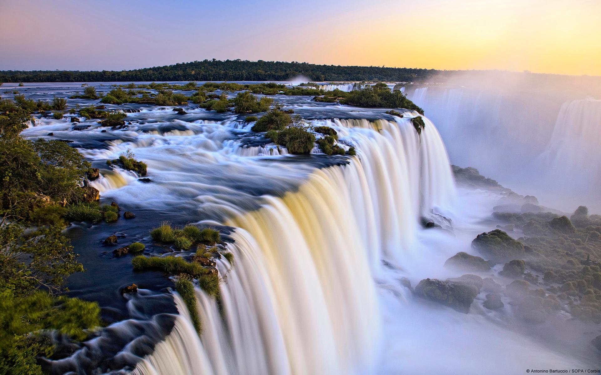 21089 скачать обои Пейзаж, Река, Водопады - заставки и картинки бесплатно