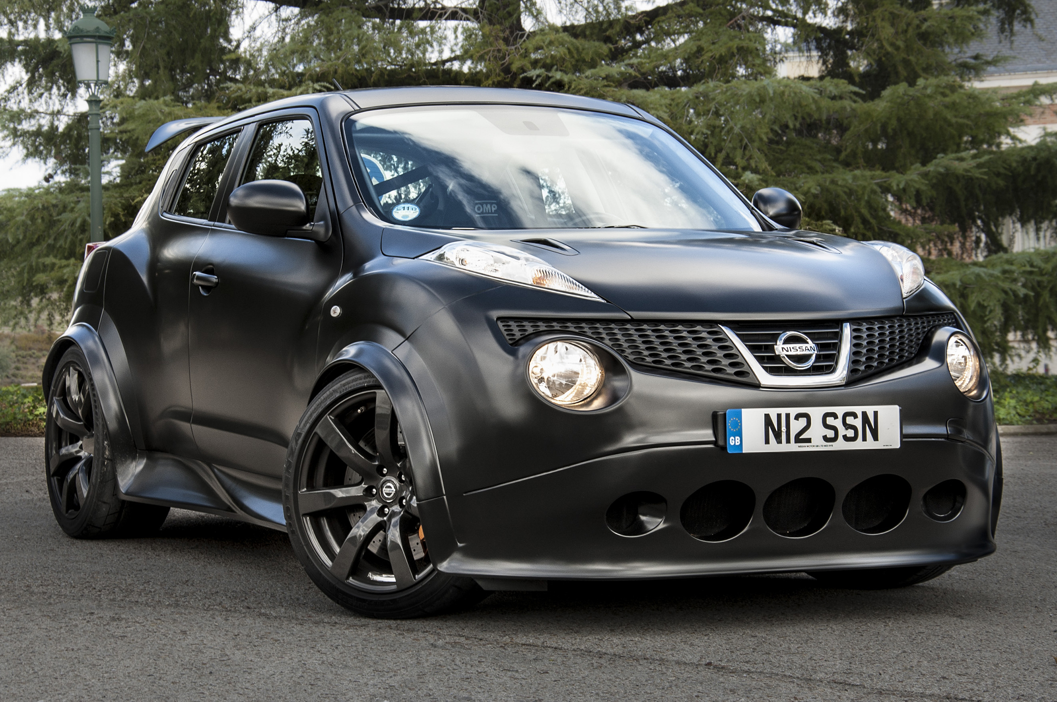 54253 download wallpaper Nissan, Cars, Front View, Matt, Mat, Juke, R, Nissan Juke, Nismo screensavers and pictures for free