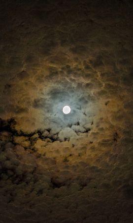 150634 baixar papel de parede Natureza, Lua, Nuvens, Céu, Noite - protetores de tela e imagens gratuitamente
