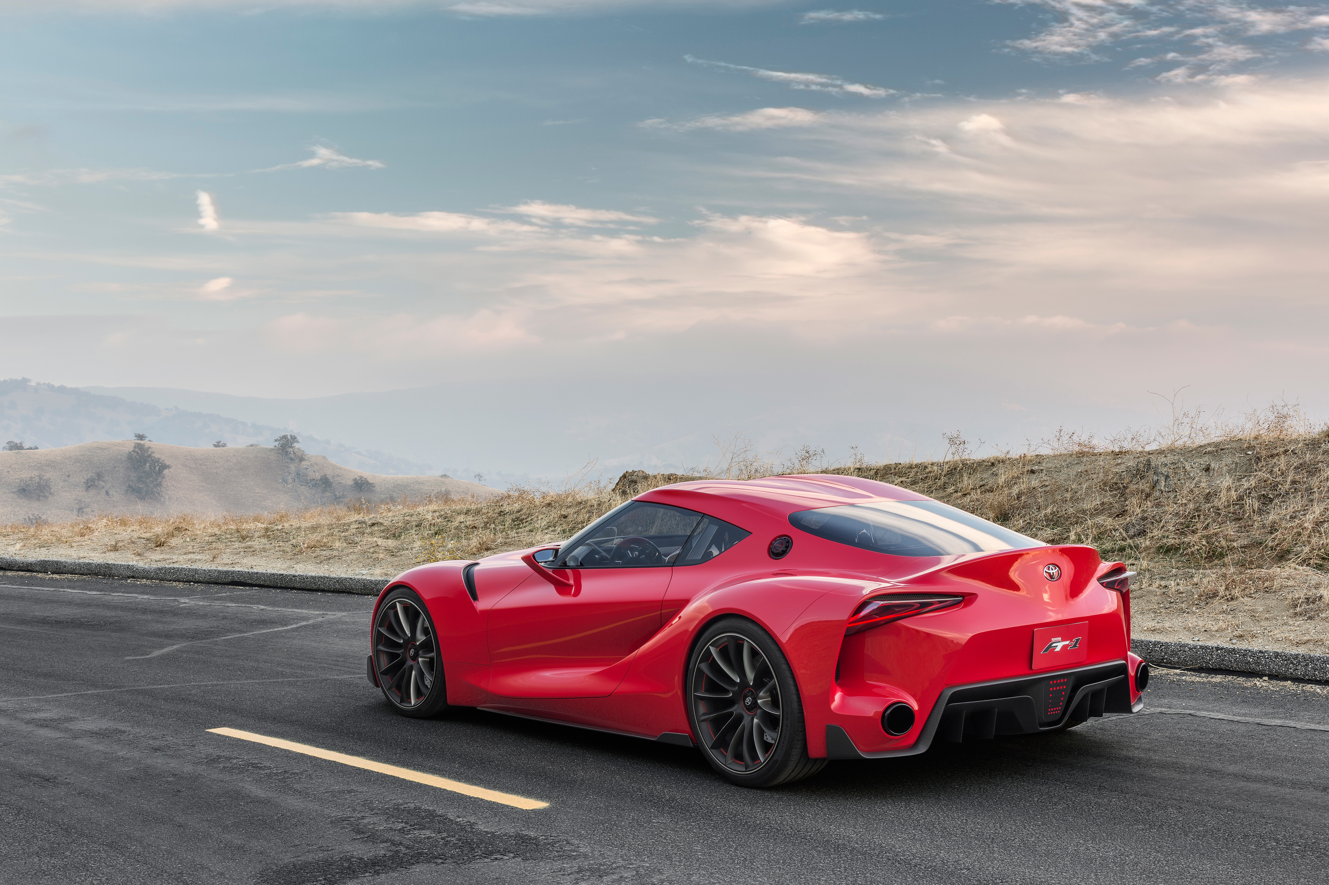 62673 download wallpaper Toyota, Cars, Car, Machine, Ft-1, Side View screensavers and pictures for free