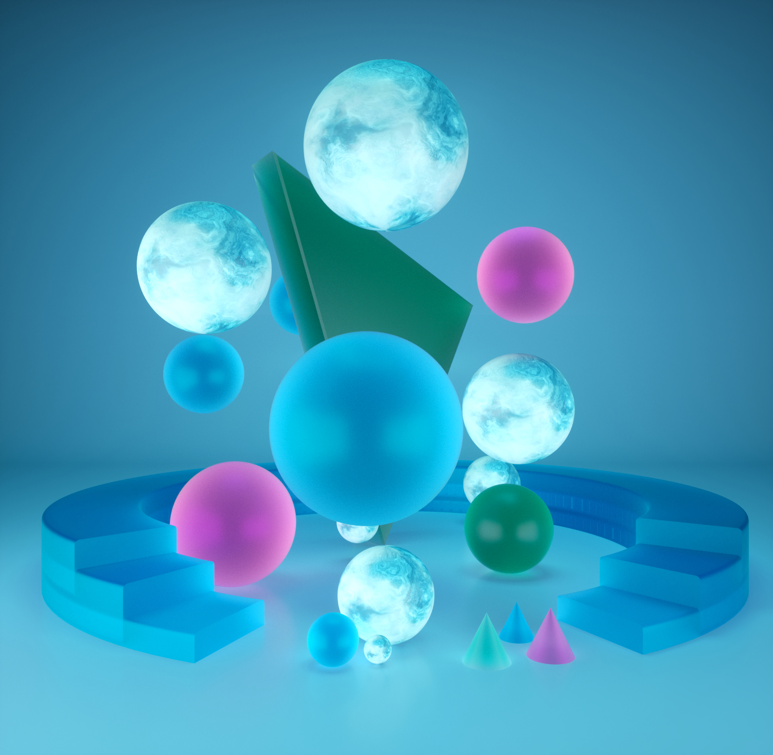 144619 Screensavers and Wallpapers Balls for phone. Download 3D, Balls, Shapes, Shape, Geometric, Sphere, Spheres pictures for free