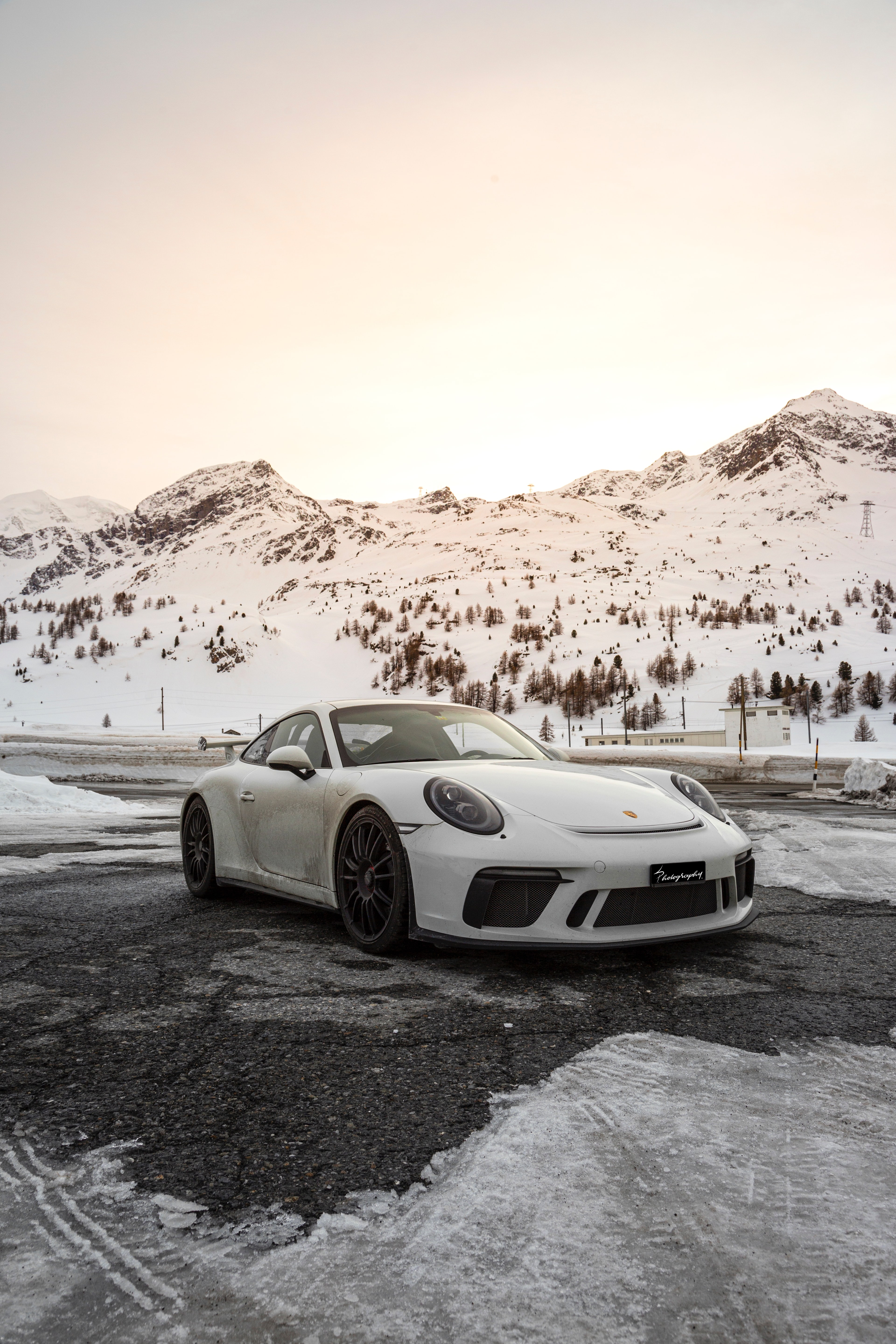 143022 download wallpaper Porsche, Sports, Mountains, Snow, Cars, Car, Sports Car screensavers and pictures for free
