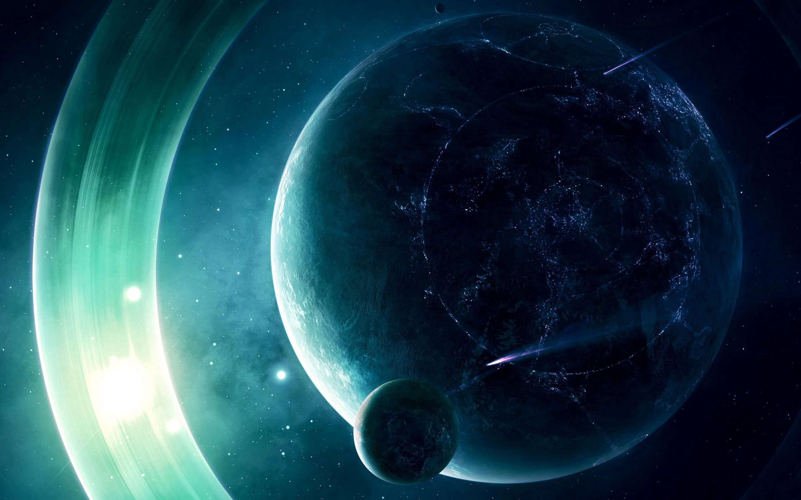 132952 Screensavers and Wallpapers Light for phone. Download Universe, Planet, Shine, Light pictures for free