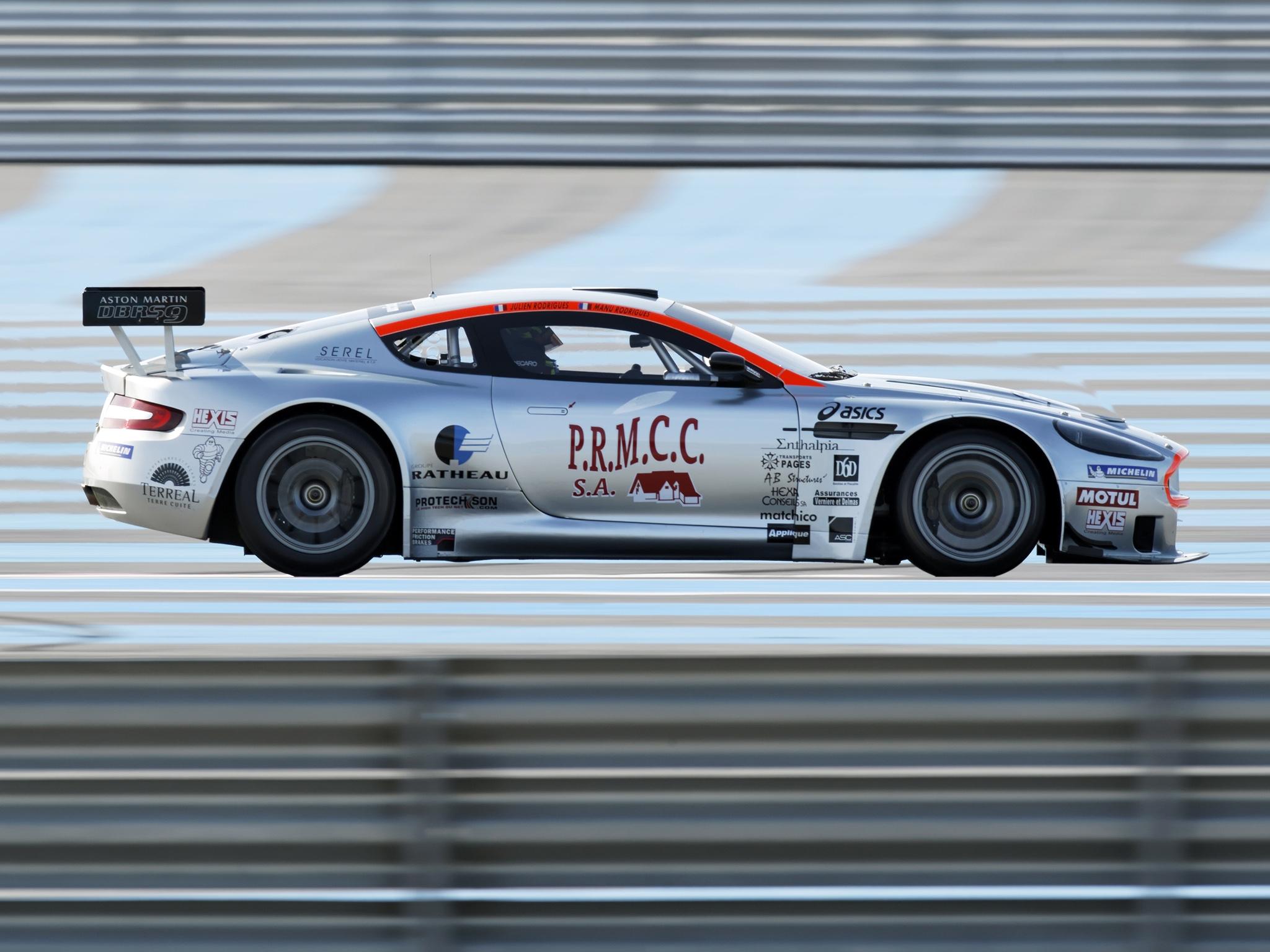 154093 скачать обои Спорт, Машины, Астон Мартин (Aston Martin), Тачки (Cars), Белый, Вид Сбоку, Скорость, Стиль, 2005, Dbrs9 - заставки и картинки бесплатно
