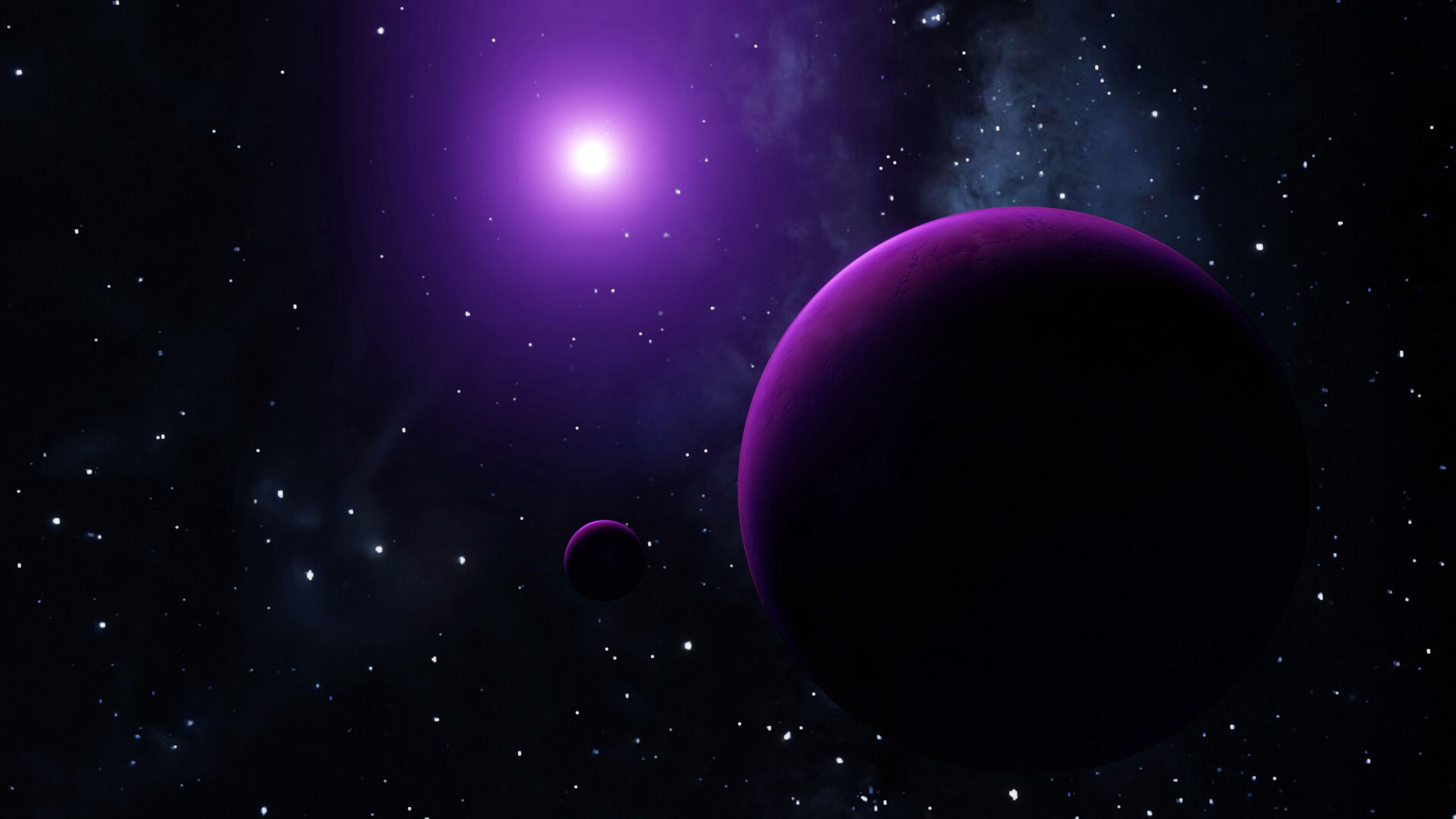 93063 скачать обои Космос, Свечение, Планеты, Звезды - заставки и картинки бесплатно
