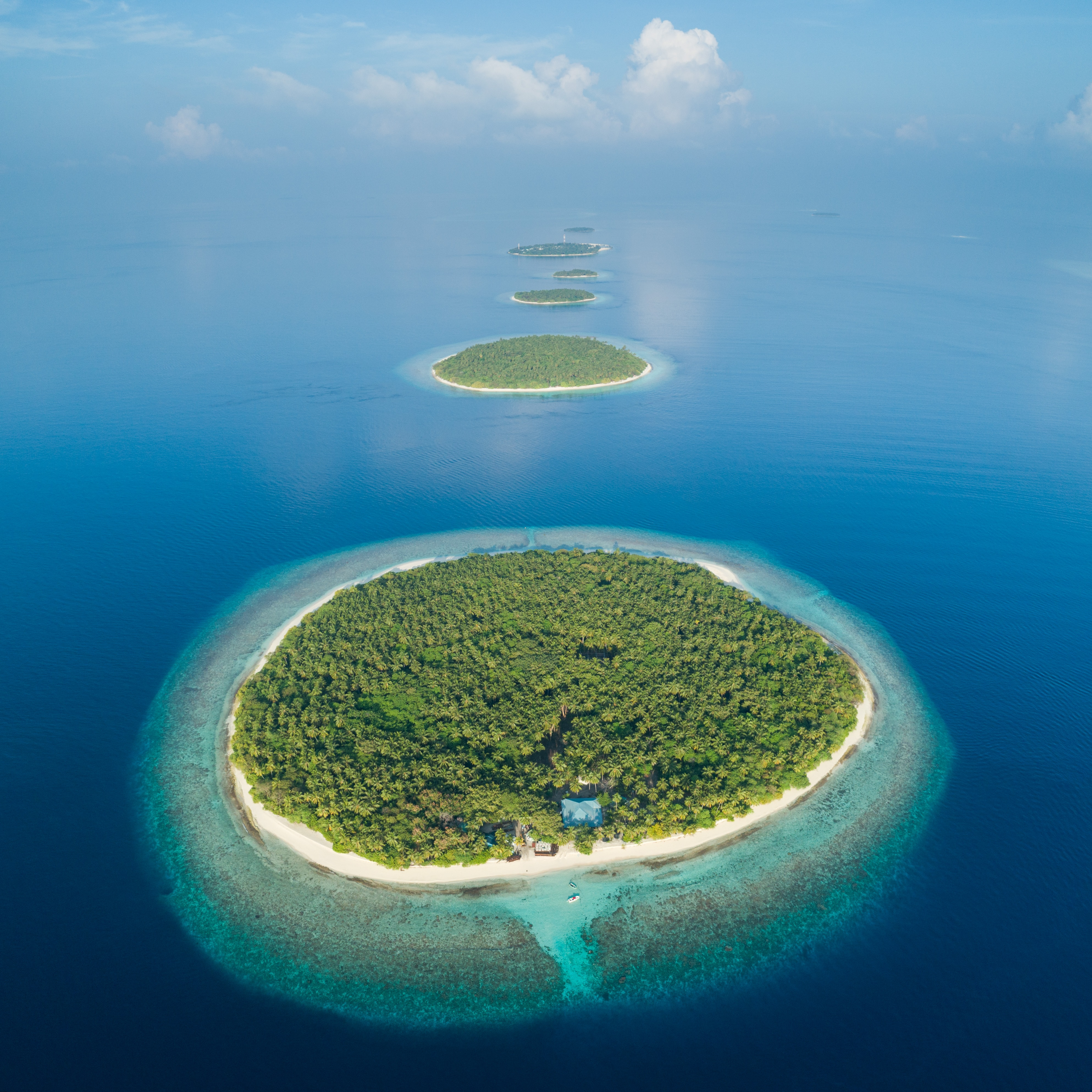 134115 download wallpaper Nature, Islands, Ocean, View From Above, Tropics, Maldives screensavers and pictures for free