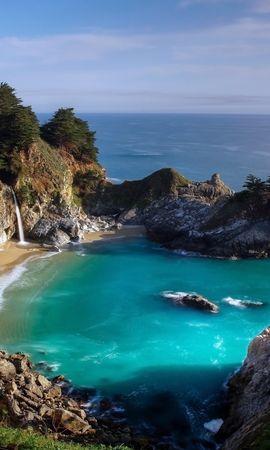 33806 скачать обои Пейзаж, Горы, Море - заставки и картинки бесплатно