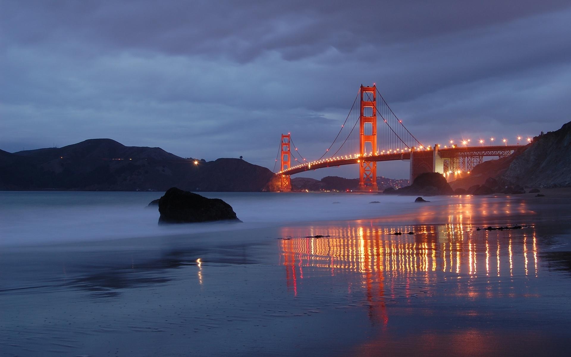 8284 Hintergrundbild herunterladen Landschaft, Flüsse, Bridges - Bildschirmschoner und Bilder kostenlos