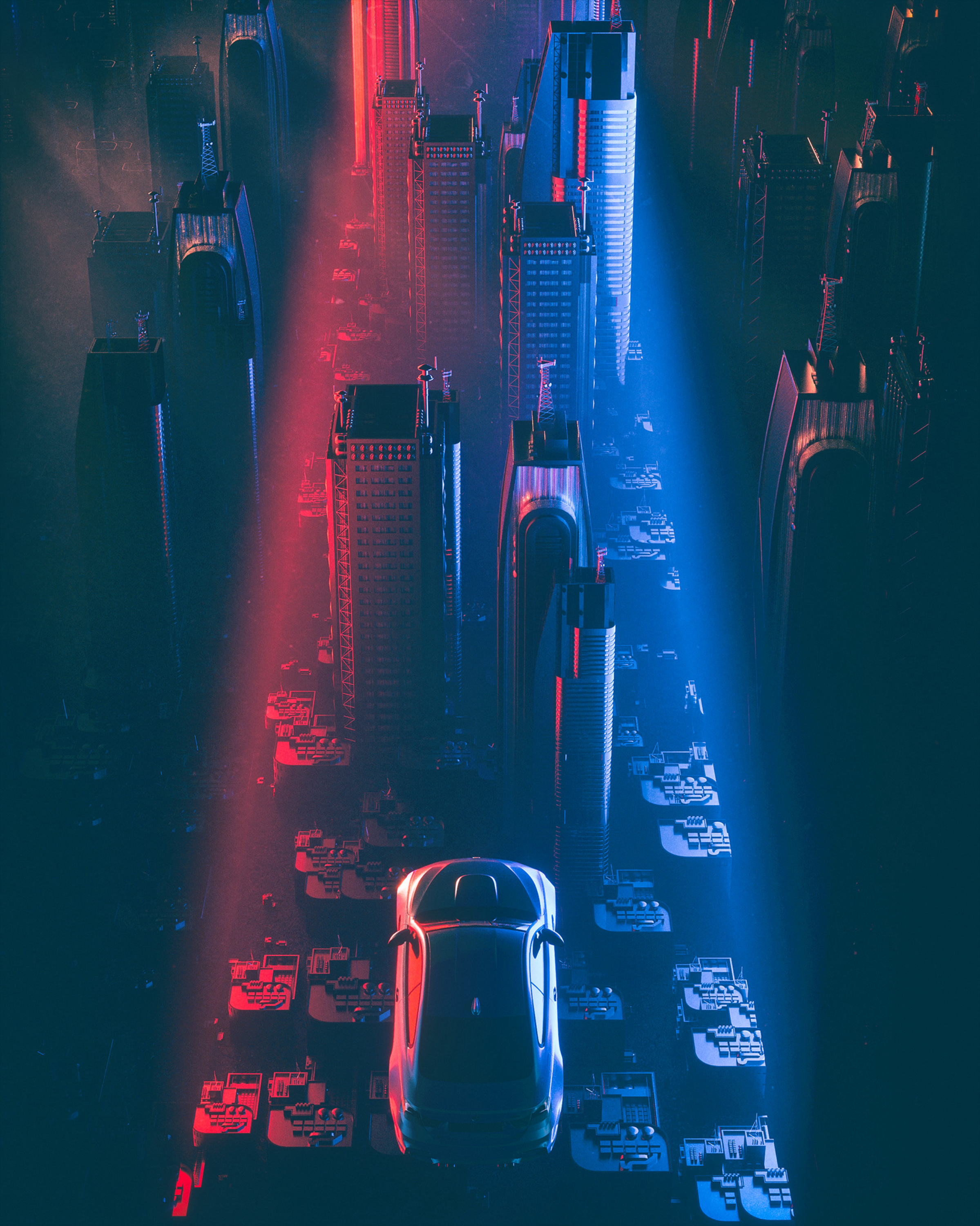 78660 Screensavers and Wallpapers Sci-Fi for phone. Download Art, City, Car, Futurism, Cyberpunk, Skyscrapers, Flight, Sci-Fi pictures for free