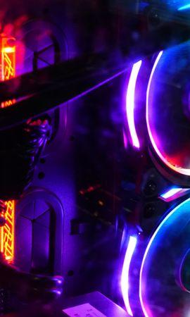 113842 Protetores de tela e papéis de parede Miscelânea em seu telefone. Baixe Miscelânea, Variado, Um Computador, Computador, Coolers, Refrigeradores, Luz De Fundo, Iluminação, Néon, Multicolorido, Motley fotos gratuitamente