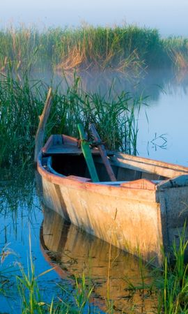 30299 скачать обои Пейзаж, Река, Лодки - заставки и картинки бесплатно