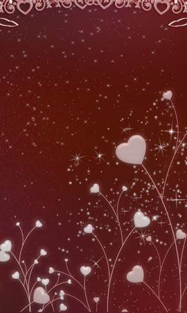 17208 скачать обои Праздники, Фон, Сердца, Любовь, День Святого Валентина (Valentine's Day) - заставки и картинки бесплатно