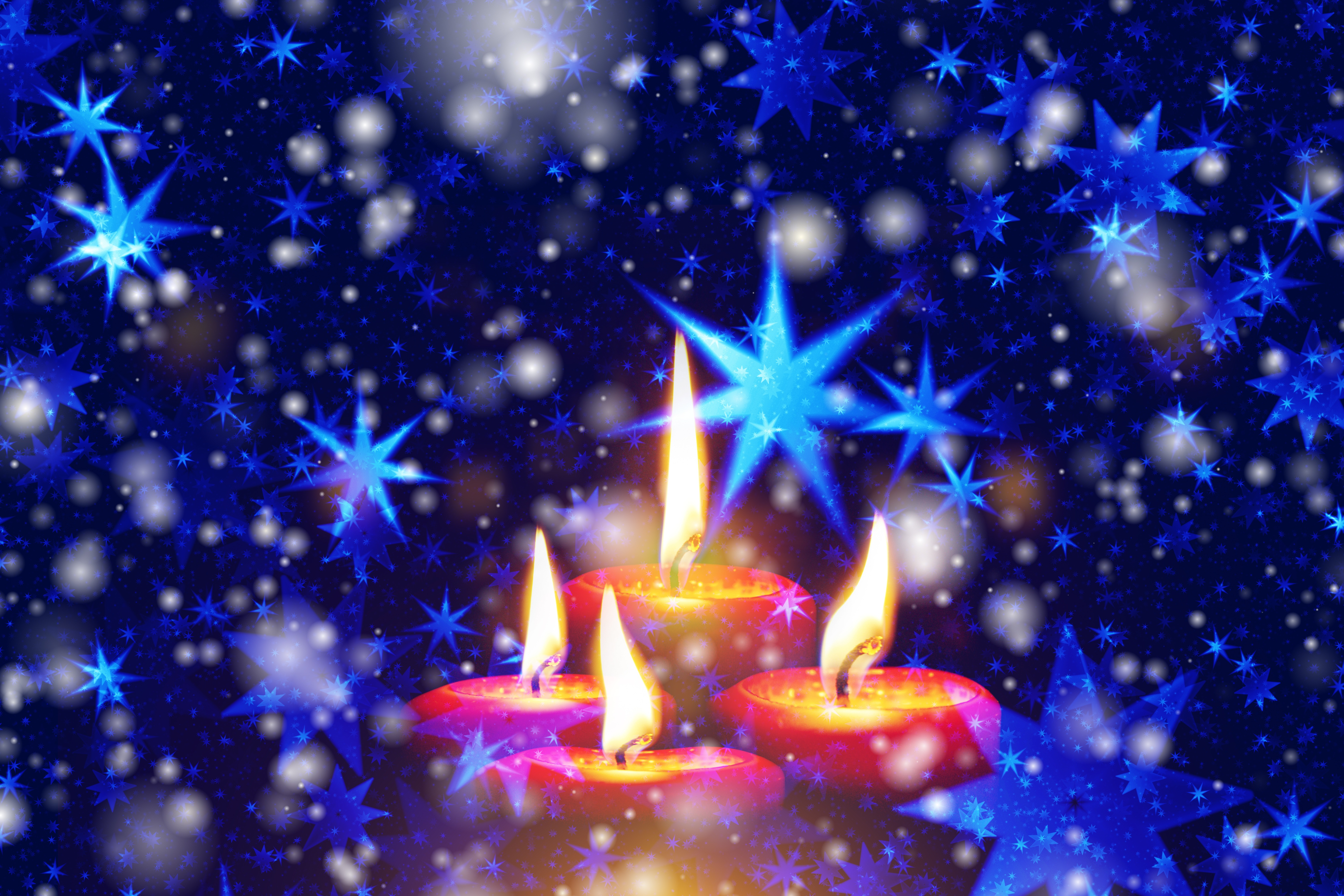 102020 Screensavers and Wallpapers Candles for phone. Download Holidays, Stars, Candles, Snowflakes, Shine, Brilliance pictures for free