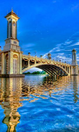 31755 скачать обои Пейзаж, Мосты, Архитектура - заставки и картинки бесплатно