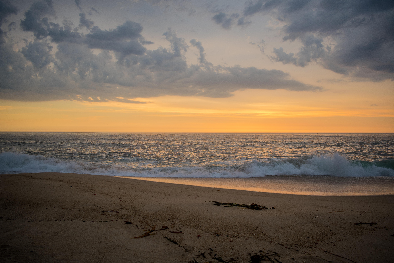 142306壁紙のダウンロード自然, 地平線, サンド, ビーチ, 波-スクリーンセーバーと写真を無料で