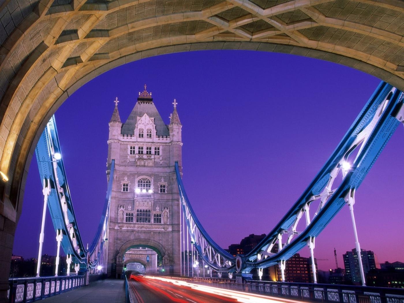 26585 скачать обои Пейзаж, Города, Мосты, Ночь, Архитектура - заставки и картинки бесплатно