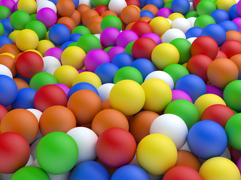 69147 Заставки и Обои 3D на телефон. Скачать 3D, Мячи, Шары, Разноцветные картинки бесплатно