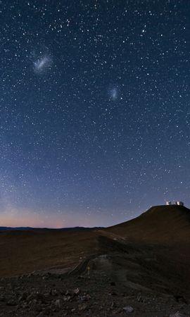 76082 Заставки и Обои Пустыня на телефон. Скачать Природа, Небо, Созвездия, Ночь, Гора, Песок, Пустыня картинки бесплатно