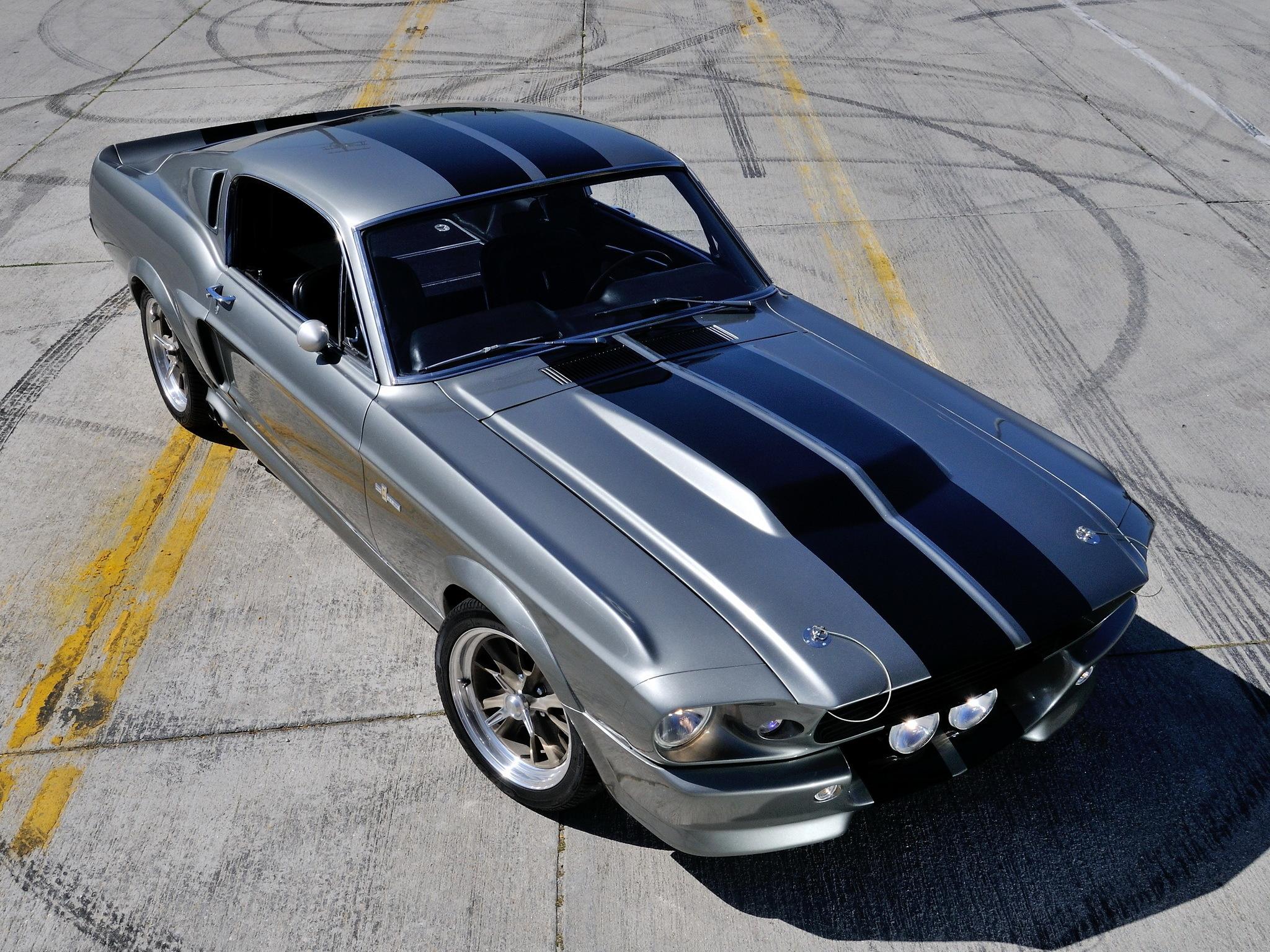 73026 скачать обои Форд (Ford), Мустанг (Mustang), Машина, Тачки (Cars), Gt500, Eleanor, Передок - заставки и картинки бесплатно