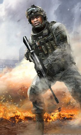 9652 download wallpaper Games, Art, Men, Modern Warfare 2 screensavers and pictures for free