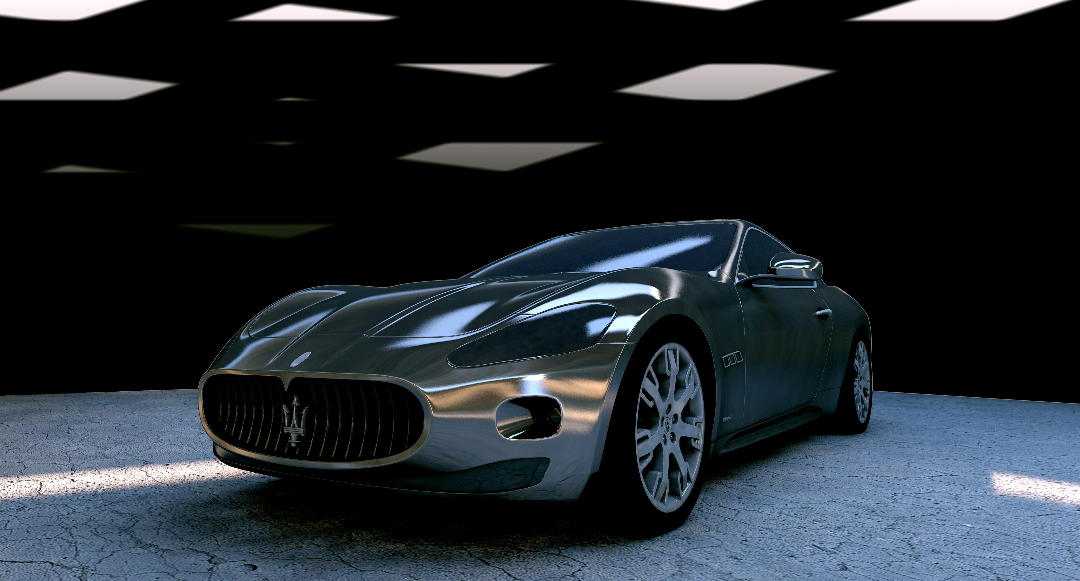125240 download wallpaper Cars, Maserati, Maserati Gt, Side View screensavers and pictures for free