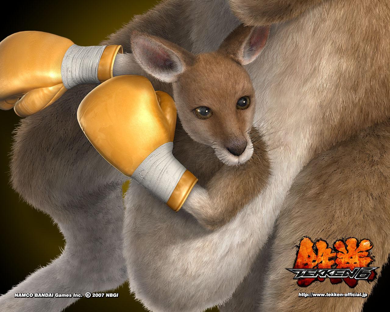 2154 скачать обои Игры, Кенгуру, Tekken - заставки и картинки бесплатно