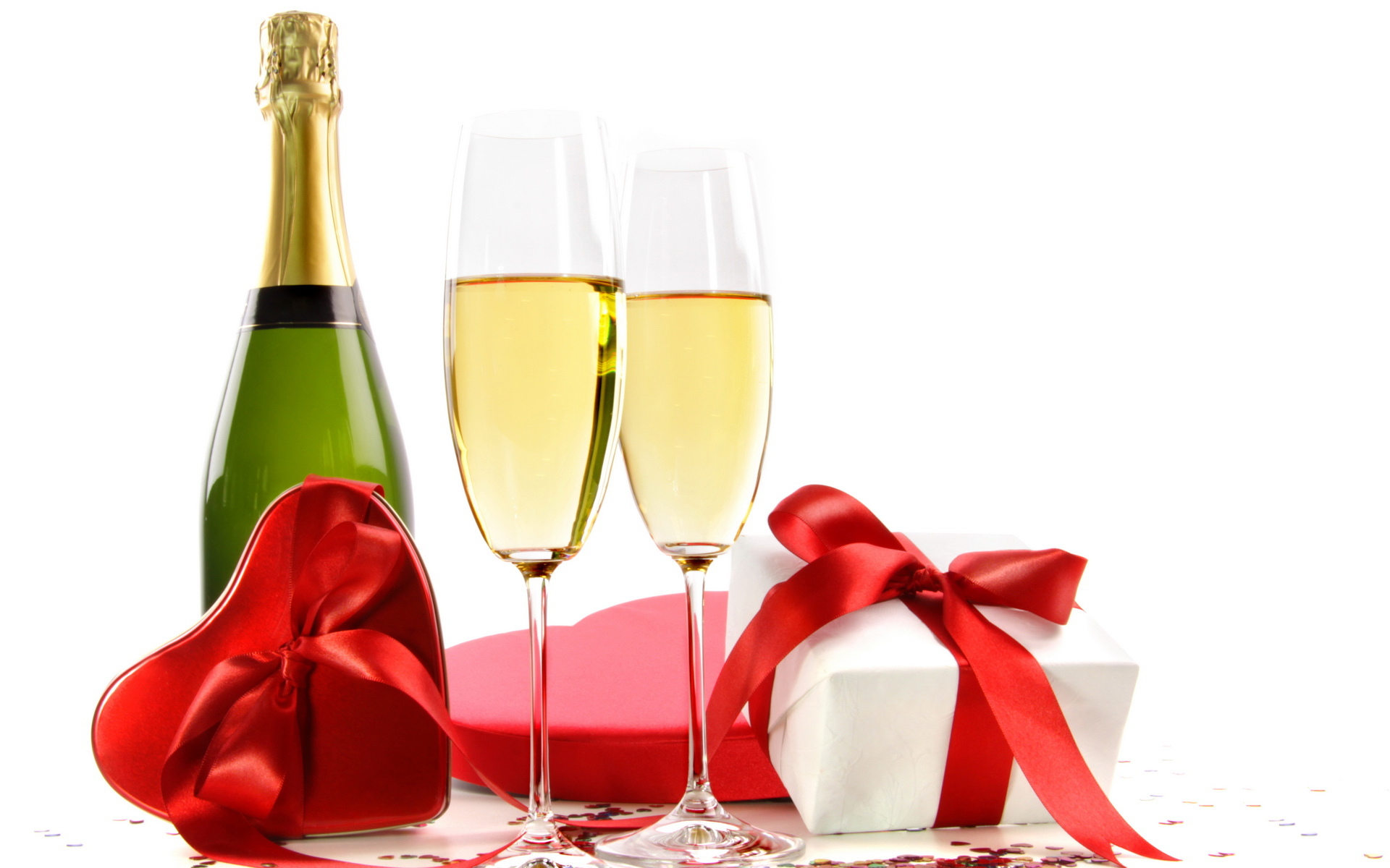32859 download wallpaper Holidays, Food, Vine, Valentine's Day, Drinks screensavers and pictures for free