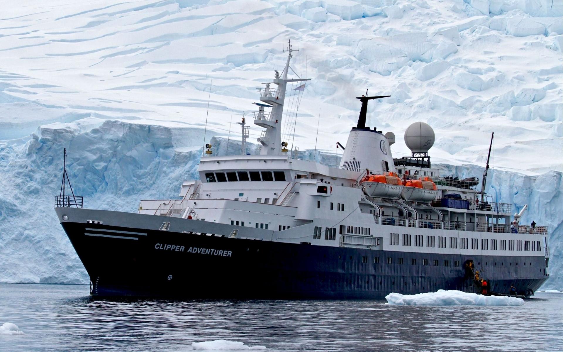 44757 скачать обои Транспорт, Зима, Корабли, Снег - заставки и картинки бесплатно