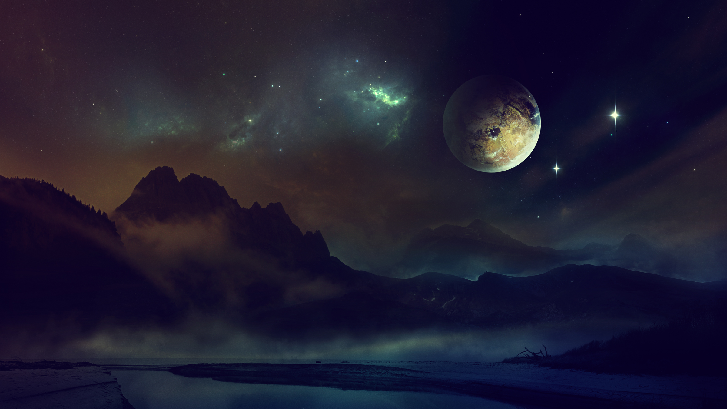 152178 download wallpaper Universe, Planet, Shine, Light, Night, Sky screensavers and pictures for free