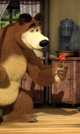 23583 скачать обои Мультфильмы, Маша И Медведь - заставки и картинки бесплатно